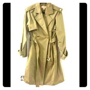 MK trench coat Size small